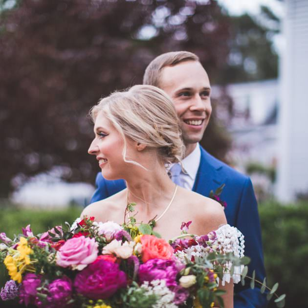 Maine wedding at the barn at Flanagan farm